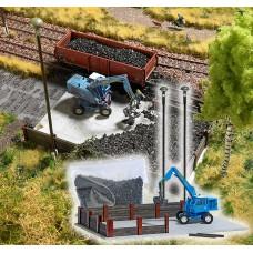 1045 - Coal Stockpile w/Excavatr
