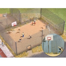 1057 - Fenced Basketball Court