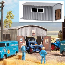 1064 - Work Shed Corrugated Mtl