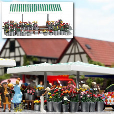 1072 - Flower Marketstand
