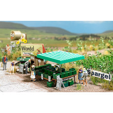 1074 - Aspargus Roadside Stand