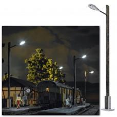 10800 - Street Lamp on Wood Pole