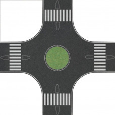 1101 - 4-Way Roundabout