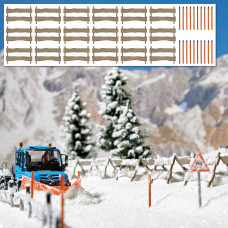 1120 - Snow Fence w/Posts