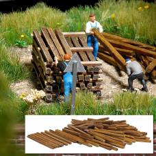 1129 - Wooden Building Lumber