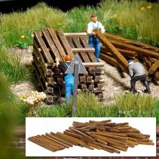 1129 - Wooden Building Lumber