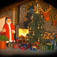 1140 - Christmas Gift Set w/Tree