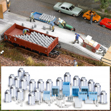 1145 - Milk Churns And Cases