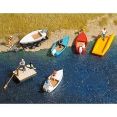 1157 - Boat/Raft Set w/Trlr 5/