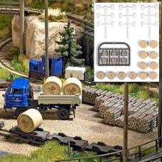 1168 - Bales, Logs, Paper Rolls