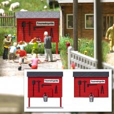 1176 - Wooden Fire Emrgncy Board
