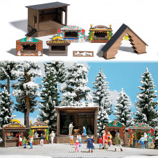 1183 - Christmas Market Set