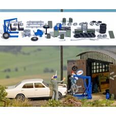1184 - Garage Equipment Set