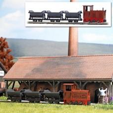 12006 - Feldbahn Set w/3 Wagons
