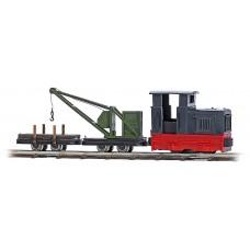 12118 - Maint Train w/Crane