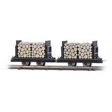12211 - Flat Car w/Logs 2/