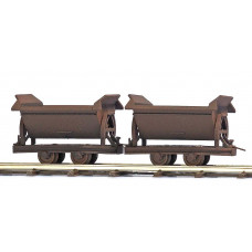 12215 - Rusty Tipper Wagons 2/