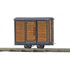 12230 - Boxcar Brn Unlettered