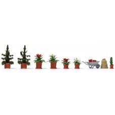 1235 - Christmas Flower Set 9/