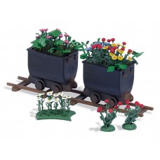 1253 - Tipper Wagon w/Flowers 2/