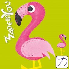 13060 - Flamingo Made By You Mini-animal