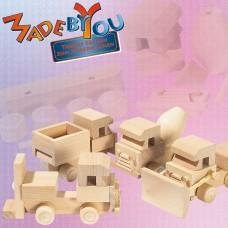 13120 - Wooden Truck Building Kit