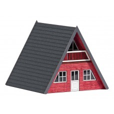 1438 - Finnish Cottage red