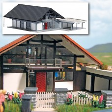 1447 - House w/Carport Gray/Blk