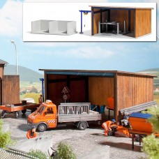 1457 - Vehicle Shed w/Container