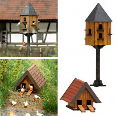 1521 - Pigeon & Duck House