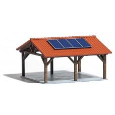 1571 - Solar Carport Peaked Roof