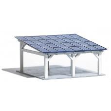 1572 - Solar Carport Slant Roof