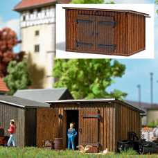 1594 - Wooden Shed