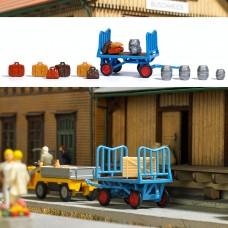 1624 - Platform Cart w/Accessori