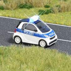 5623 - Smart Fortwo Police w/Lt