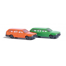 8300 - VW Passat orange & grn 2/