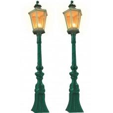 8621 - Oldtime lamps drk grn  2/