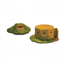 6501 - Pill box and Dugout  -  15-20 MM SCALE