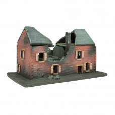 6502 - Ruined Village House 15mm  -  15 MM SCALE