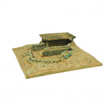 6508 - Command Bunker with Roof  -  15-20 MM SCALE