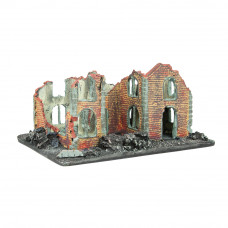 6510 - Ruined House Removeable   -  15-20 MM SCALE