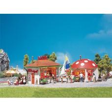 Faller 120135 2 Small stands (kiosks)