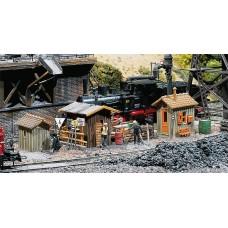 Faller 120140 Trackside sheds        3/
