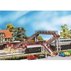 Faller 120179 4 Track conc footbridge