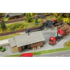 Faller 130184 Beet Dump w/Storage Shed