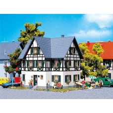 Faller 130259 Hlf Timbered 2 Fmly House