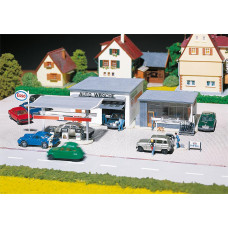 Faller 130296 Gas station and car wash