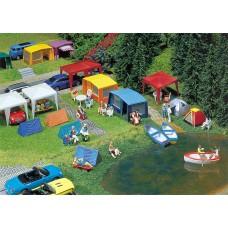Faller 130504 Camping Tent Set