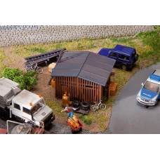 Faller 130524 Shed w/Accessories
