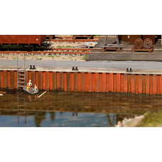 Faller 131012 Quay Wall Painted Kit